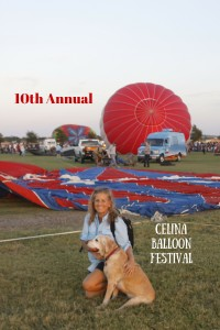 10th Annual celina balloon festival
