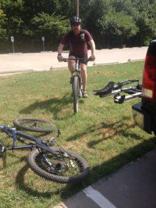 Rowlett creek preserve mountain biking