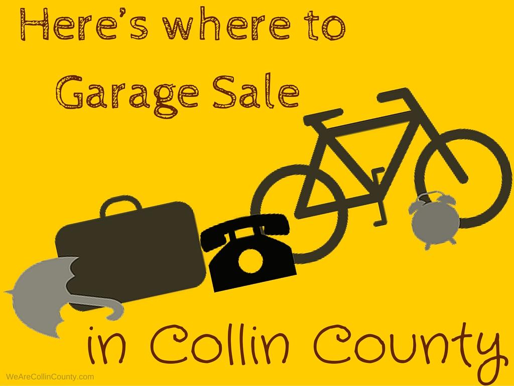 garage sale in plano