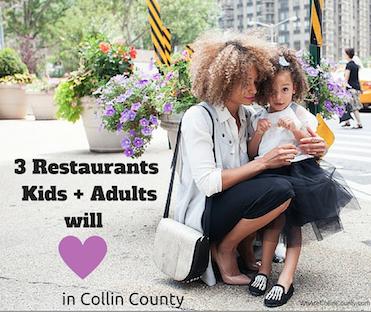 collin county kid friendly restaurants