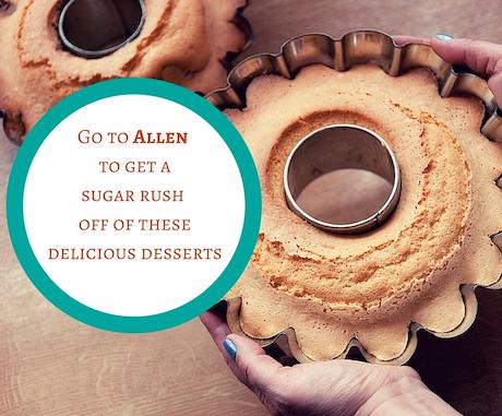 dessert places in Allen