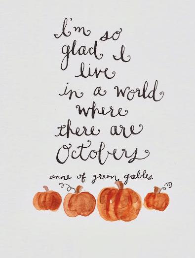 Free Printable Octobers