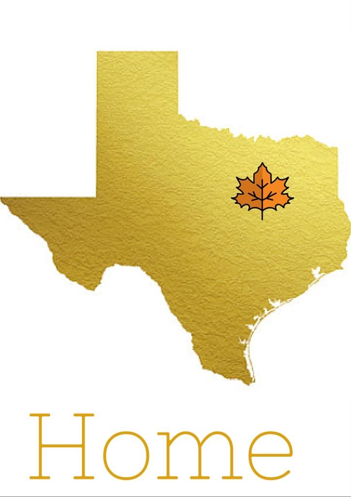 texas fall printable