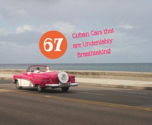 antique cars in cuba