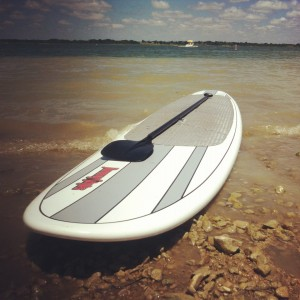 paddle boarding lake ray hubbard
