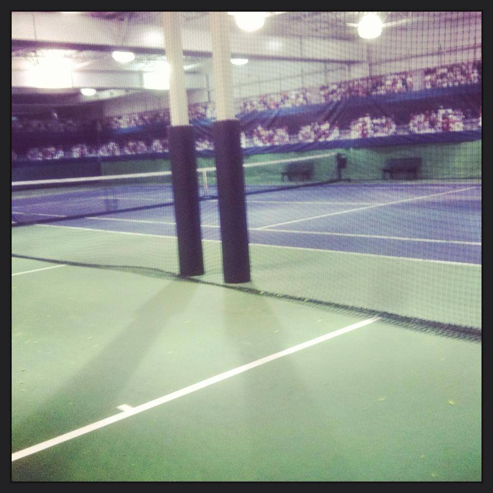 indoor tennis plano