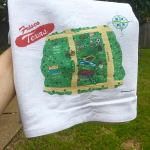 frisco flour sack towel