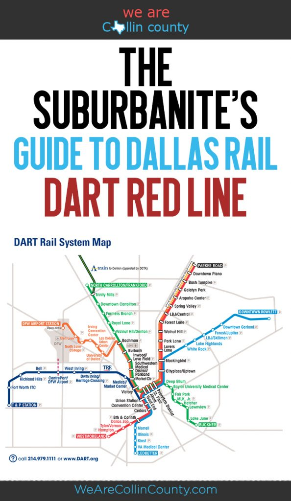 The Suburbanite's Guide to Dallas Rail:  DART Red Line