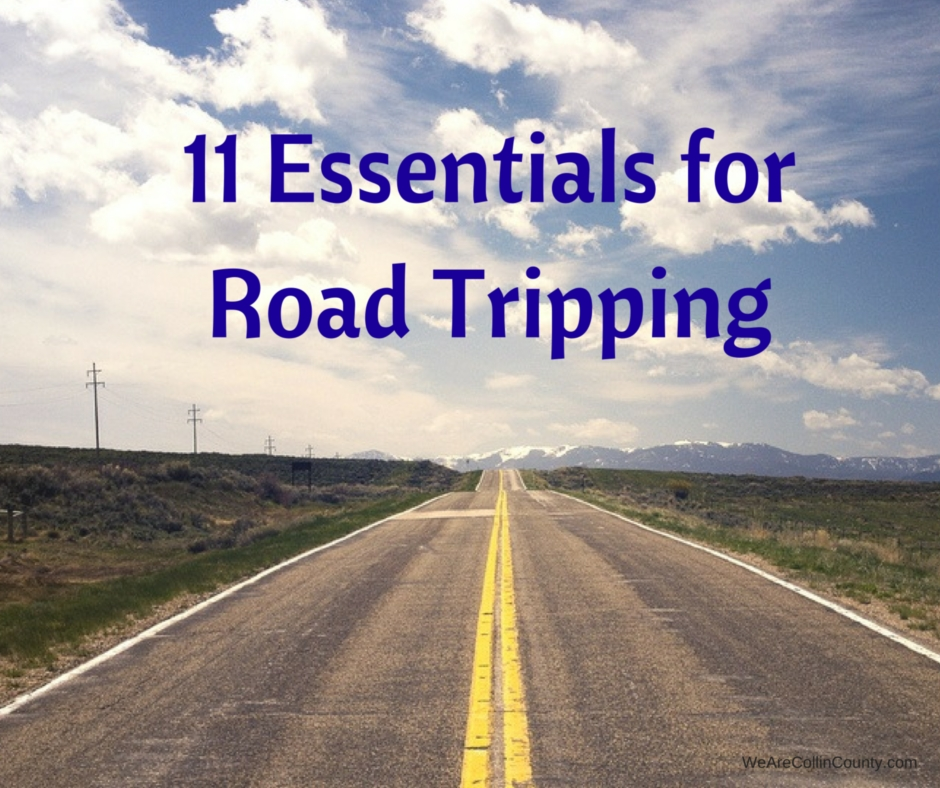 11 Essentials for Road Tripping