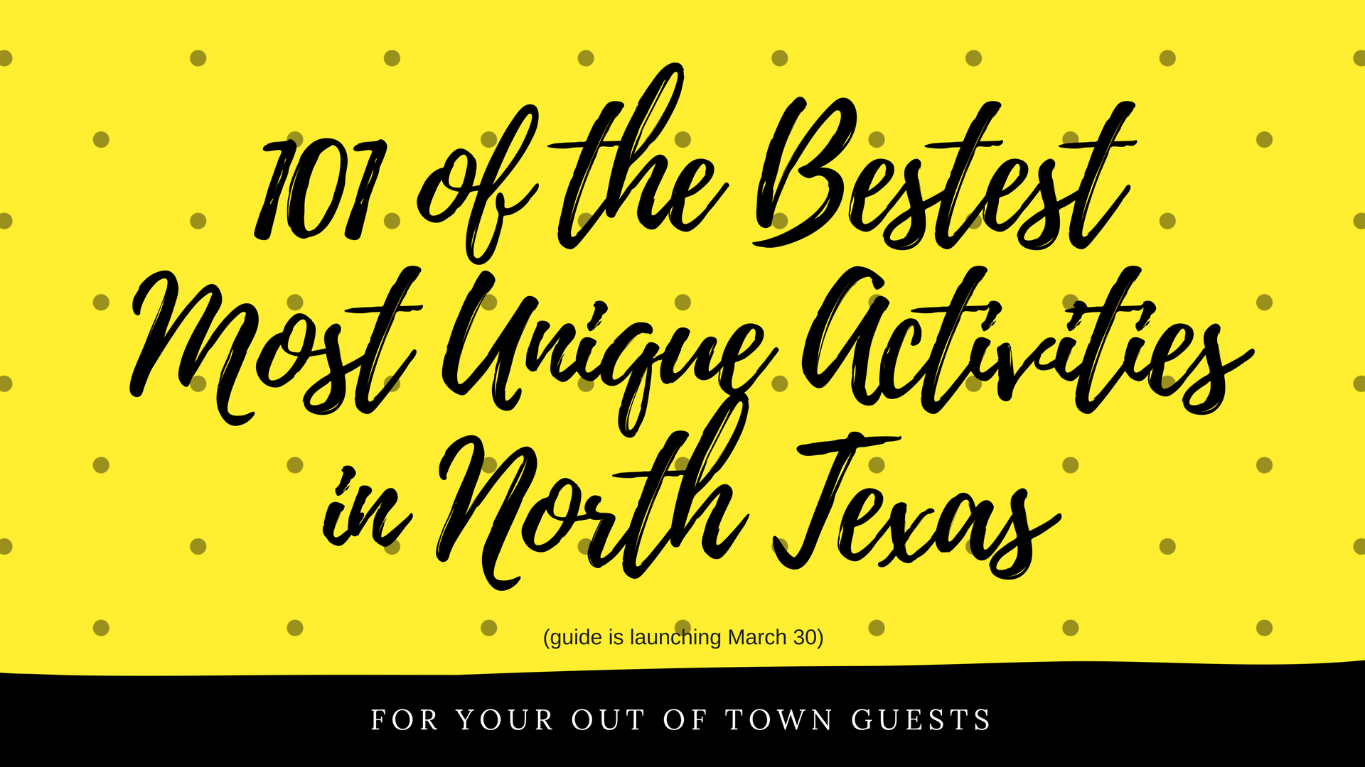 101 of the Bestest Most Unique Activities in North Texas(3)