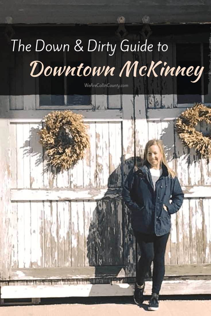 Here is where to eat in McKinney Texas. If you live in McKinney, you'll have to add this to your list of things to do