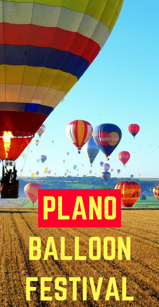 The Plano Balloon Festival is the place to be this Fall. You won't want to miss this spectacular gathering of hot air balloons for the best hot air balloon festival in Dallas Texas #PlanoTX #hotairballoonfestival #DFW #DallasTX