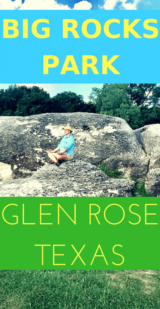 Big Rocks Park in Glen Rose Texas