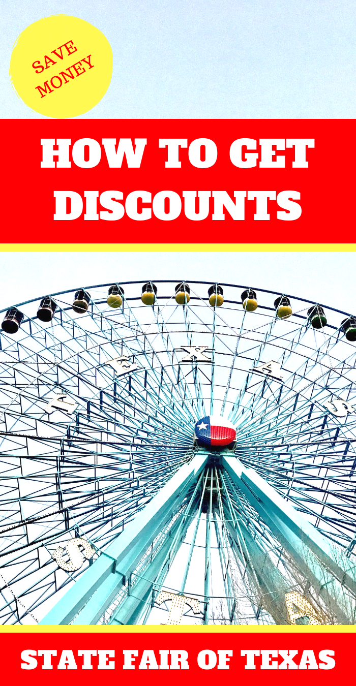 How To Get Discounts at the State Fair of Texas #dallastexas #visitdallas #statefairoftexas #texans #discounts #savemoney