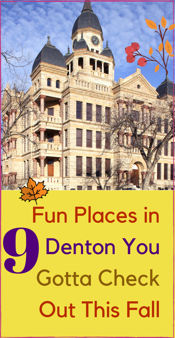 Fun Places Denton Texas to Check out this Fall #wearedallasfortworth #DentonTX #downtowndenton