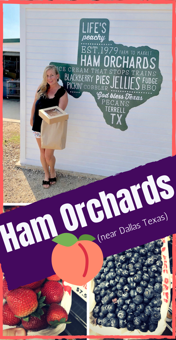 Ham Orchard U Pick em Farm near Dallas