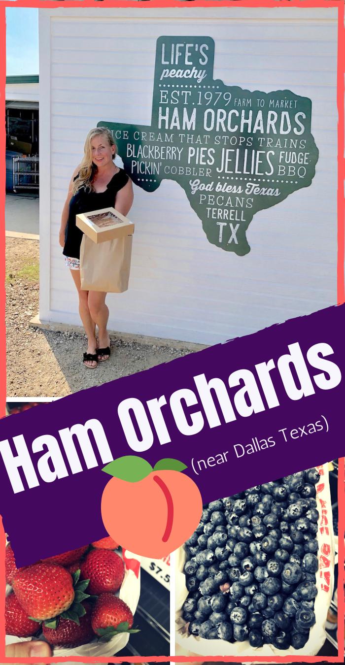 Ham Orchard U Pick em Farm near Dallas