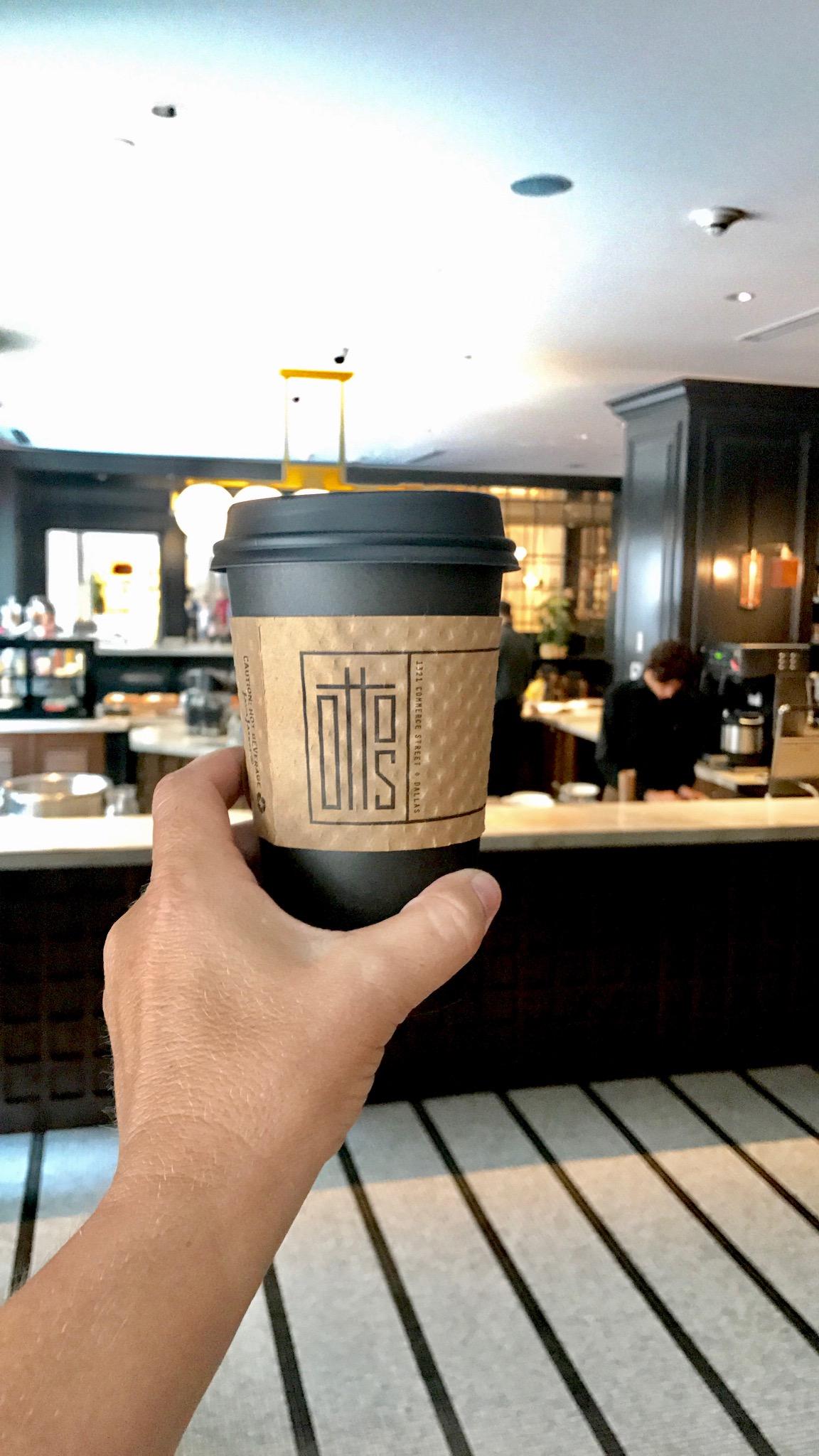 Otto's Coffee Downtown Dallas