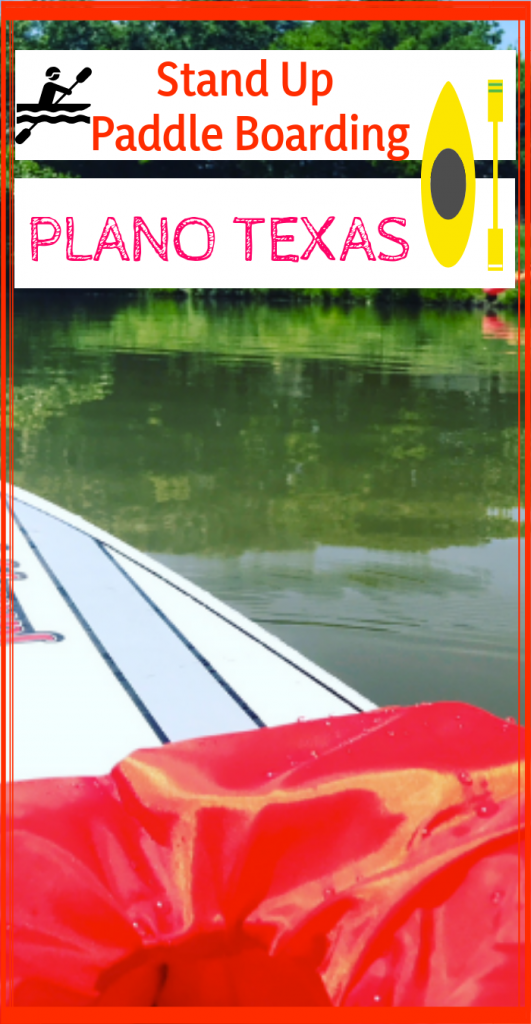 Here's where to Stand Up Paddle Board in Plano Texas