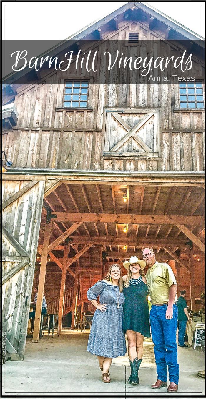 Barnhill Vineyard just north of Dallas Texas in the quaint town of Anna Texas #WeAreDallasFortWorth