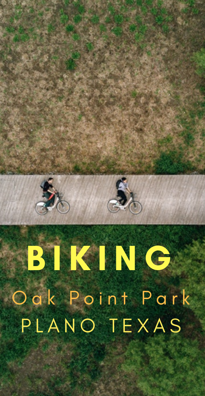biking oak point park plano