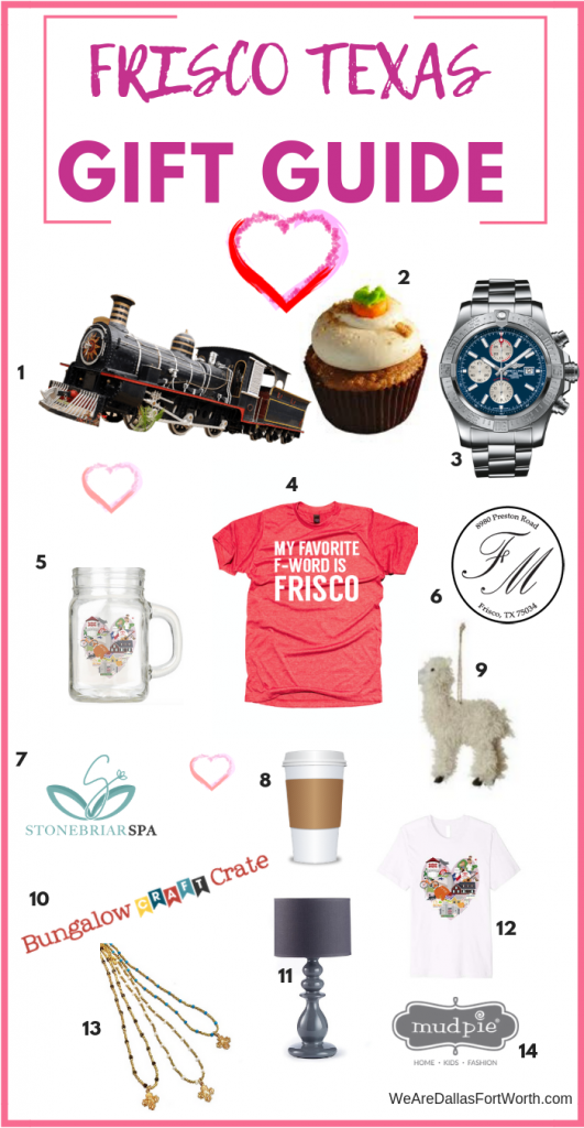 frisco texas gift guide