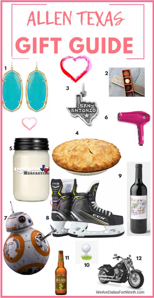 Allen Texas Gift Guide
