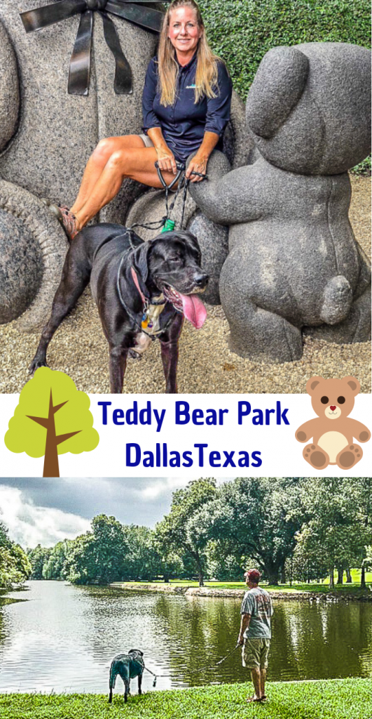 Teddy Bear Park aka Lakeside Park in Dallas
