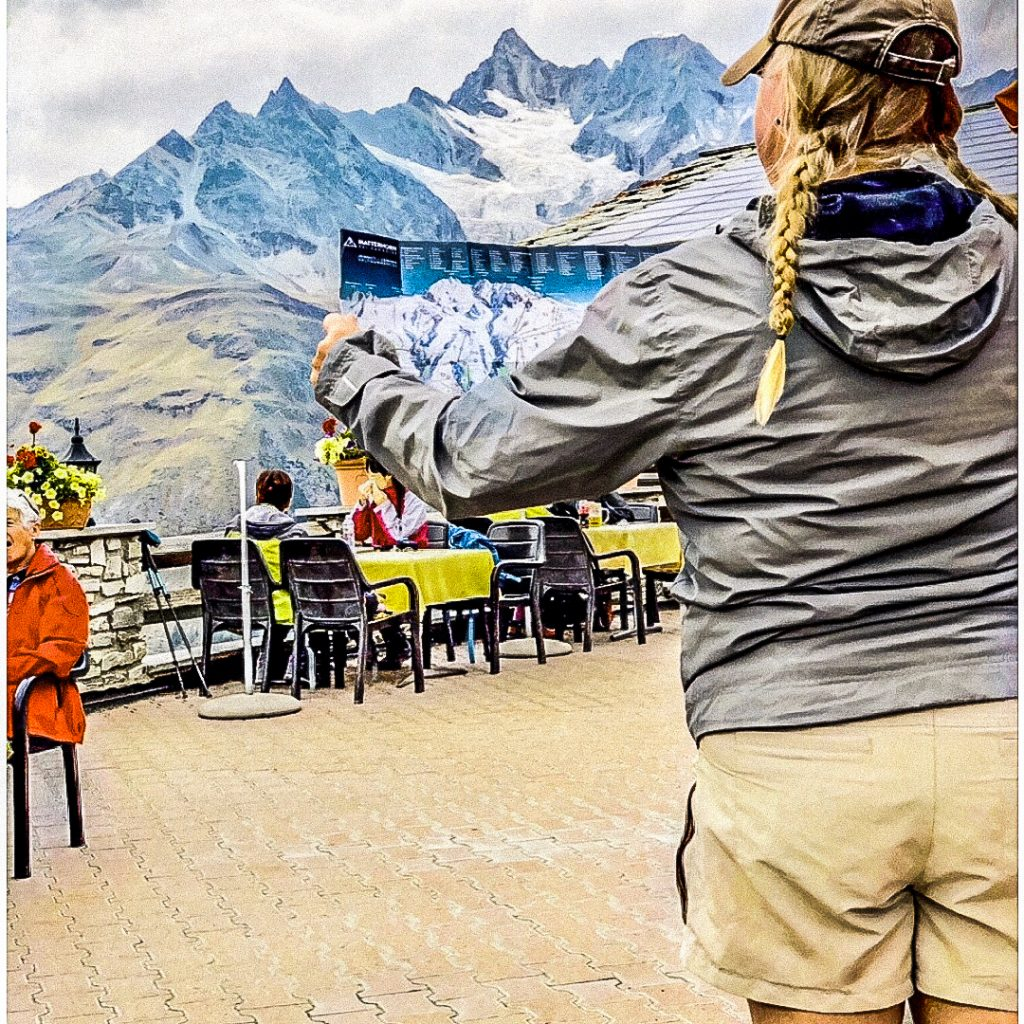 Escape from Dallas: Zermatt Switzerland