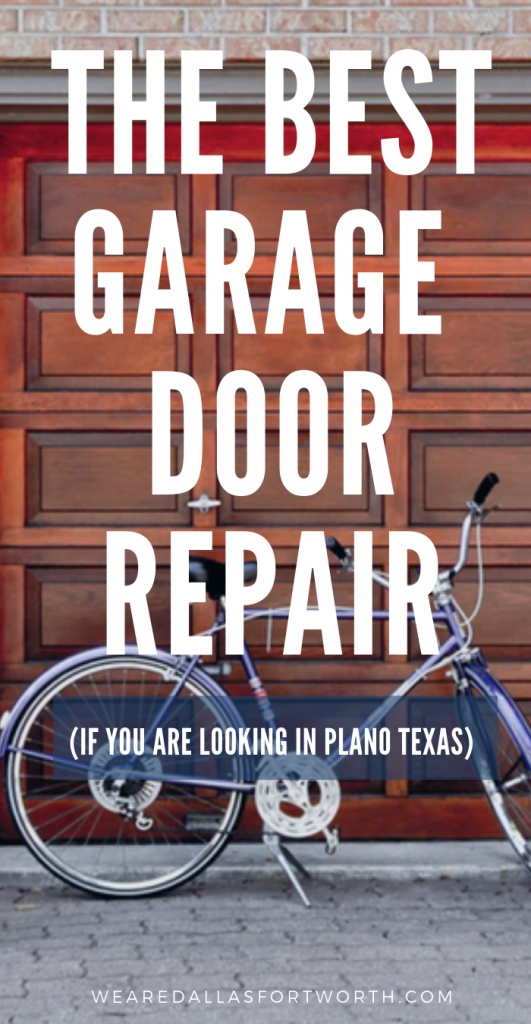 THE BEST garage door repair in Plano Texas
