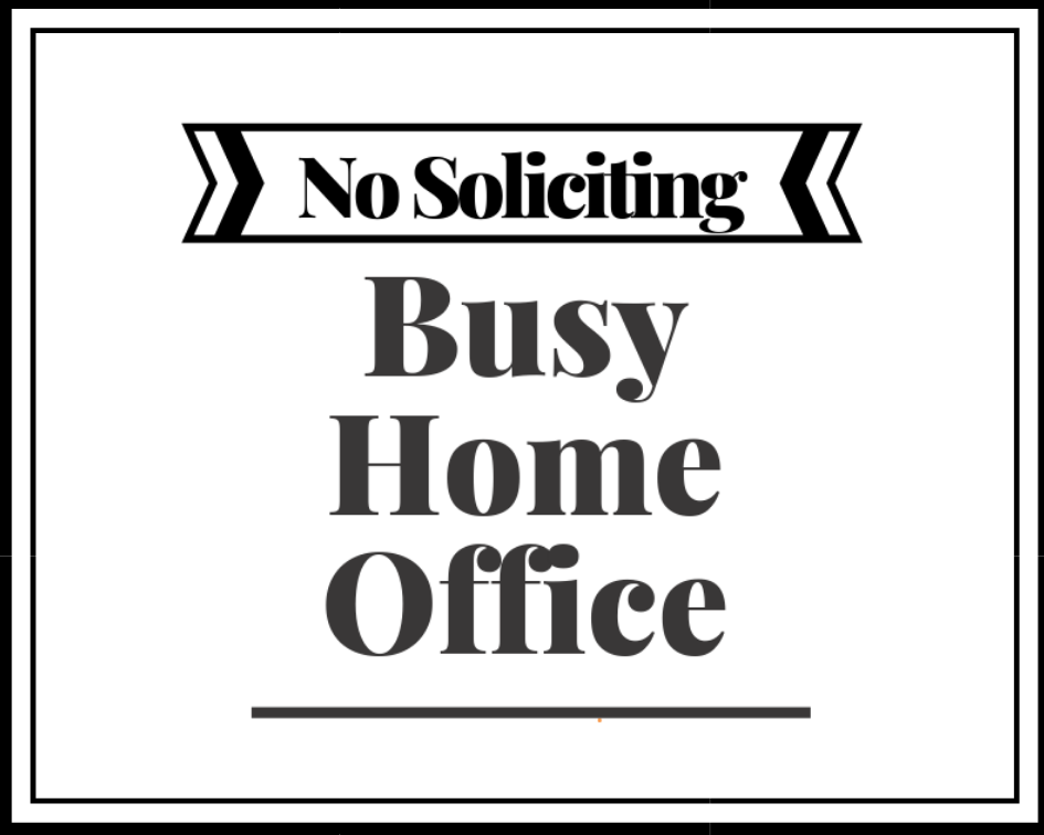 No Soliciting Download
