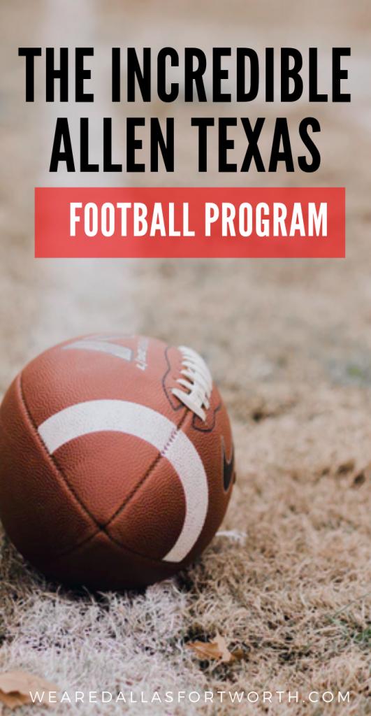 The Incredible Allen Texas Football program