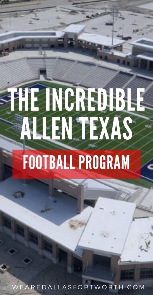 The Incredible 2019 Allen Texas Football Program