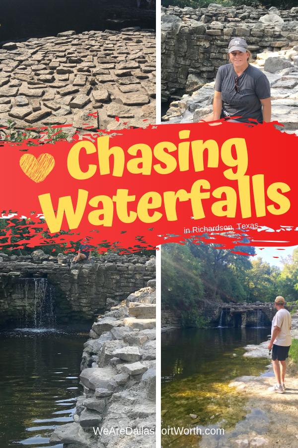 Chasing Waterfalls Prairie Creek Park RichardsonTexas