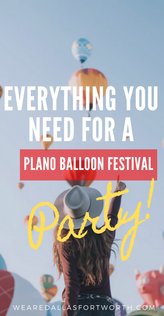 Everything You Need for the 2019 Plano Balloon Festival Half Marathon Celebration Party