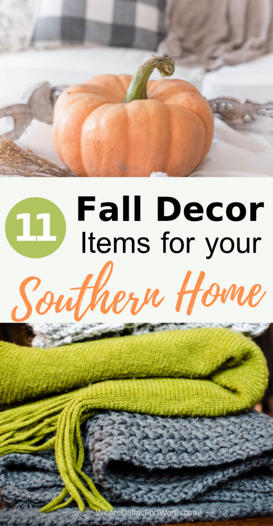 11 Fall Decor items for your Southern home - such a dose of cozy