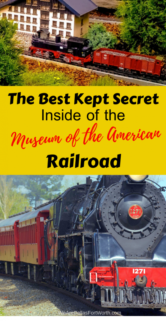The Best Kept Secret Inside of the Museum of the American Railroad in 2020