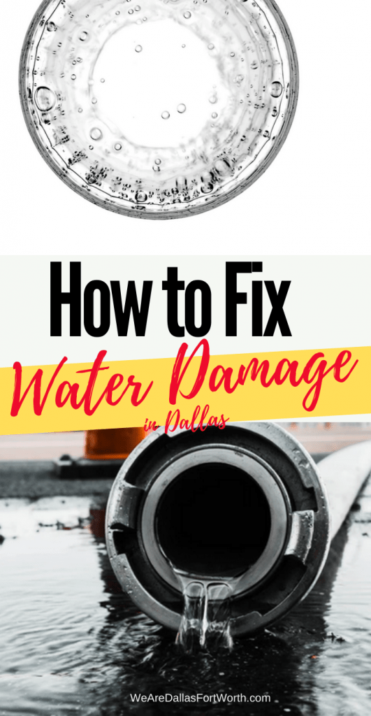 How to Fix Water Damage in Dallas