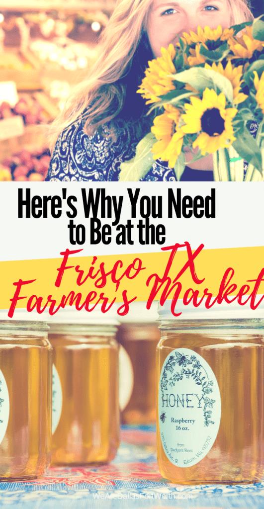 Frisco Texas Farmer's Market