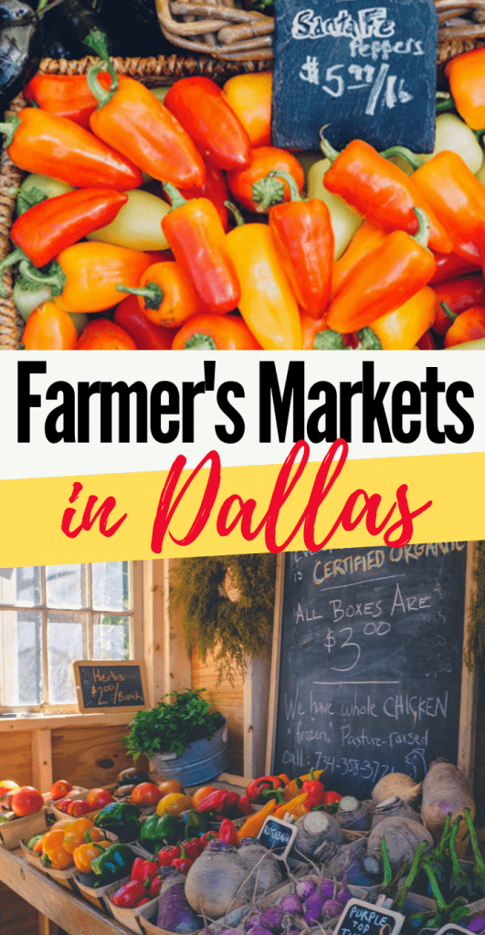 farmers markets in Dallas