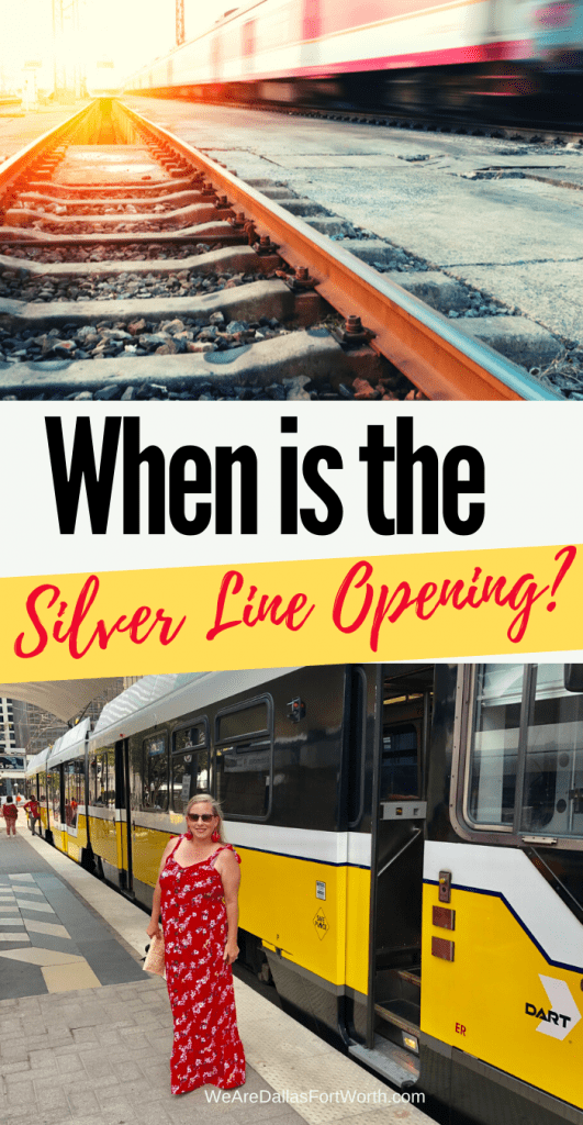 When is the Dallas Silver Line Opening?