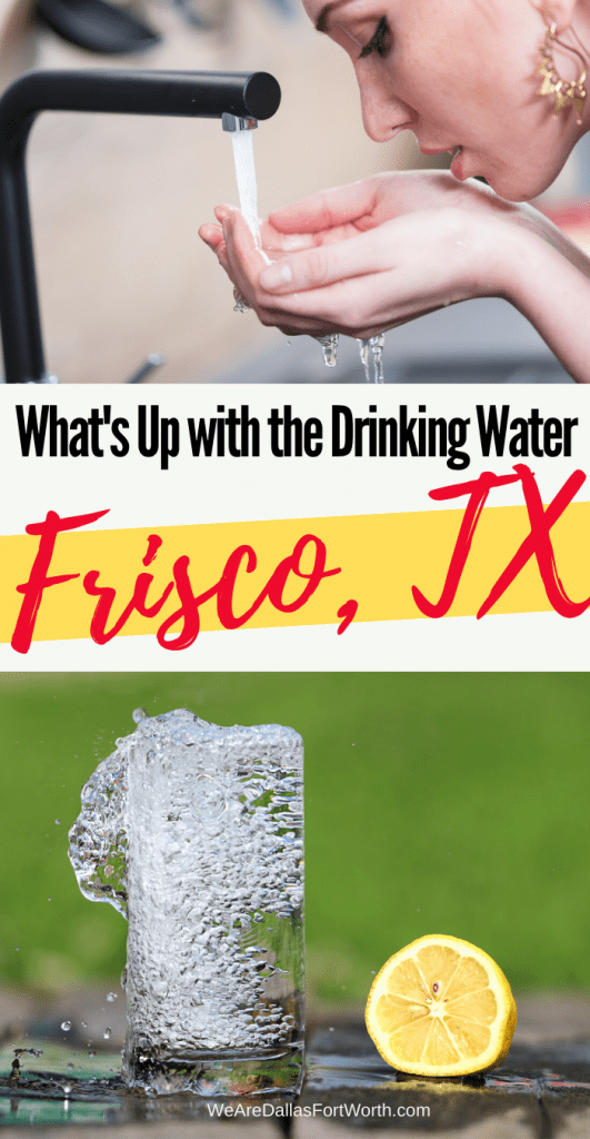 frisco texas drinking water