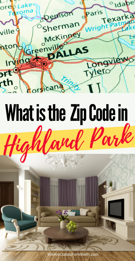 What is the Zip Code for Highland Park Texas?