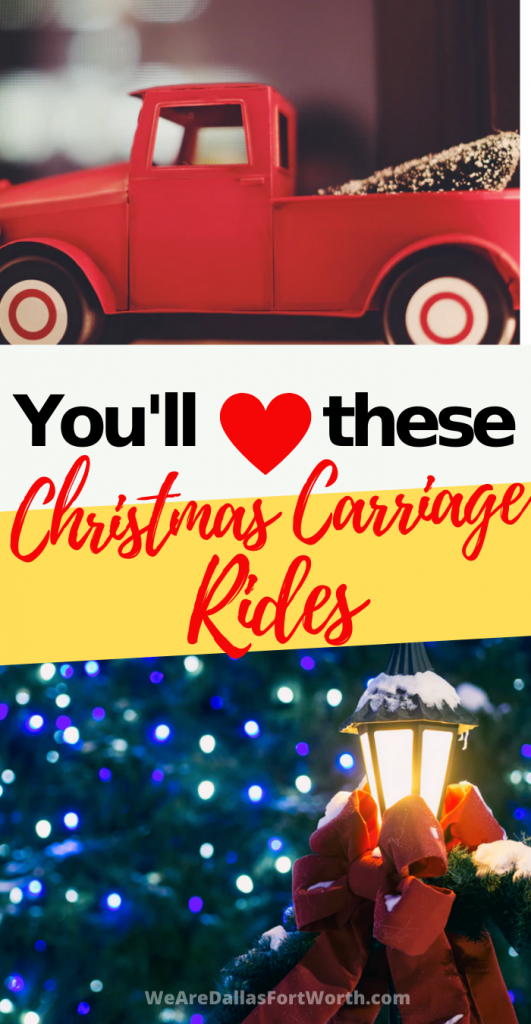 Don't Miss the Highland Park Texas Christmas Carriage Rides