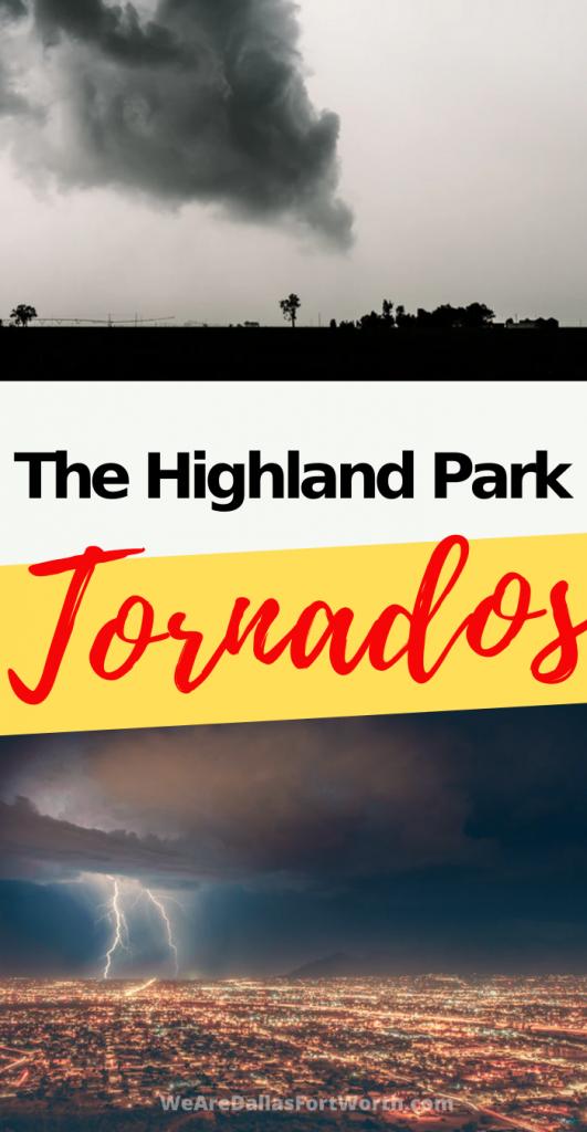 highland park texas tornado