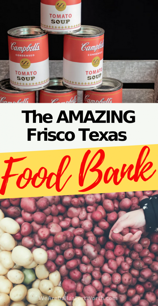 HURRY! The Frisco Texas Food Bank Needs YOU