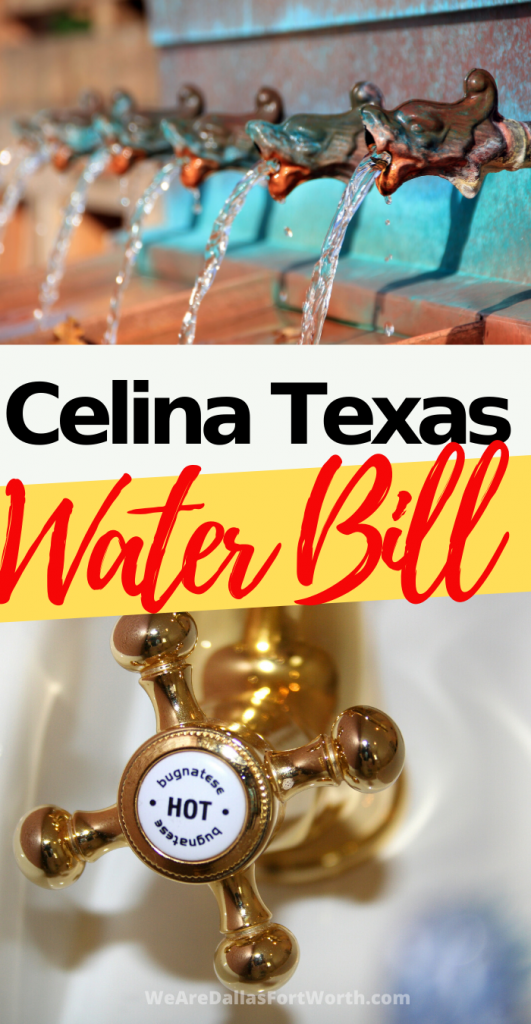 What You Should Know About Your Celina Texas Water Bill