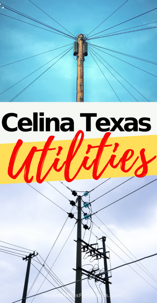 HURRY! You Need to Activate Your Celina Texas Utilities