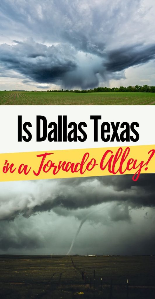 Is Dallas Texas in Tornado Alley?