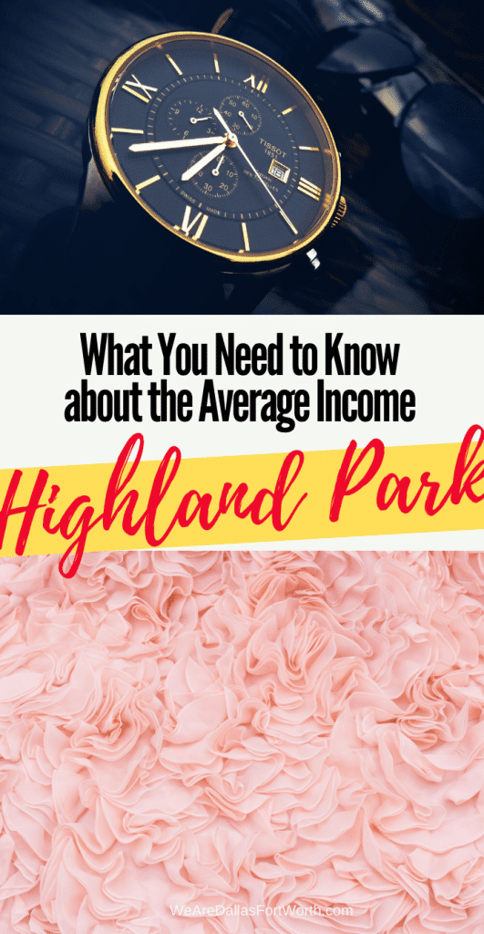 highland park tx average income